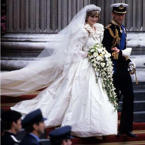 Принц Чарльз и Диана Спенсер свадьба