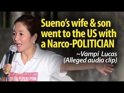 Sueno's wife & son allegedly went to the US with a NARCO-POLITICIAN ~SHARE - WATCH VIDEO HERE -> http://dutertenewstoday.com/suenos-wife-son-allegedly-went-to-the-us-with-a-narco-politician-share/   News video courtesy of The Storyteller YouTube channel  Disclaimer: The views and opinions expressed in this video are those of the YouTube Channel owners and do not necessarily reflect the opinion or position of the site owners/FB admins.
