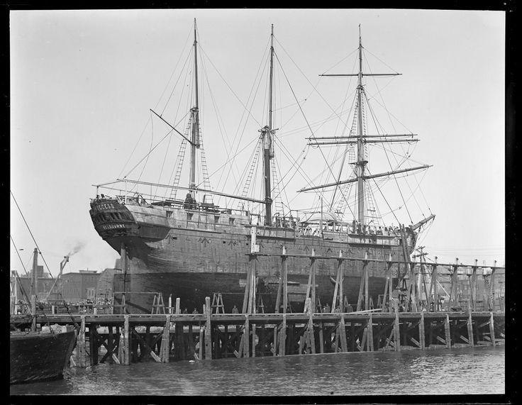 "Convict ship Success - Chelsea - Digital Commonwealth ~ ""Melbourne"" (Australia)"
