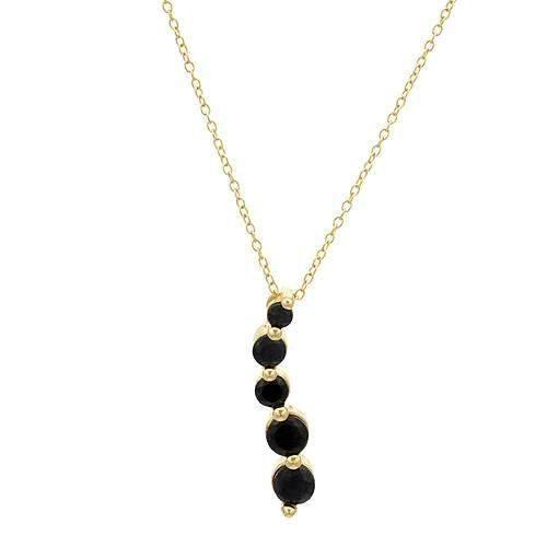 Stunning journey necklace with sapphires beautifully crafted in 14K gold plated 925 silver. Total item weight 3.3g. Length 18inch. HOTTEST deals at up to 99.9% DISCOUNTS http://idealsmarter.perfectinter.net/?refid=31593e9f