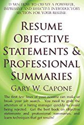 to help you write a good objective statement we listed 50 objective statements taken from