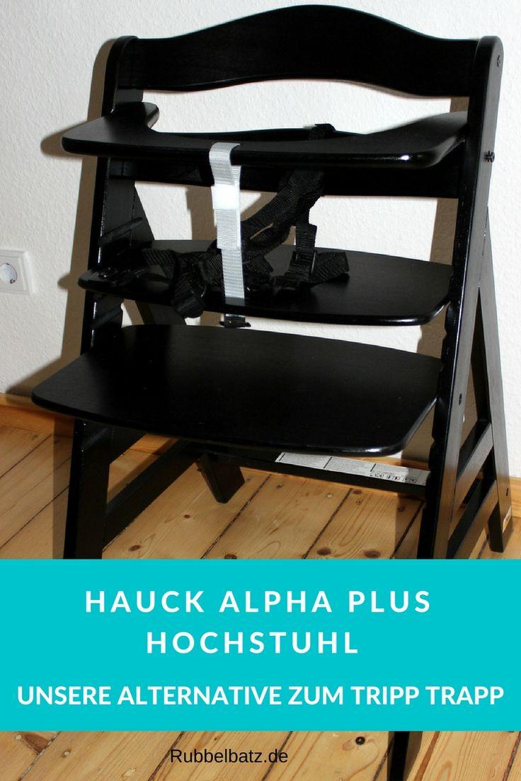 Der Hauck Alpha+ ist eine gute und wesentlich günstigere Tripp Trapp Alternative.