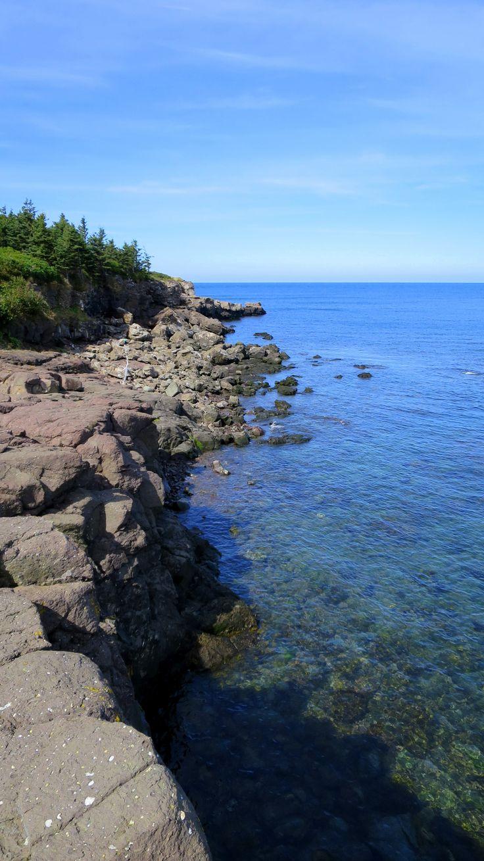 High Cliff Cove Trail, Digby Neck, Nova Scotia, Canada