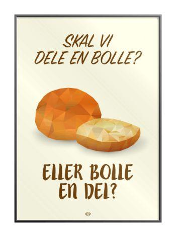 Skal_vi_dele_en_bolle_eller_bolle_en_del_plakat