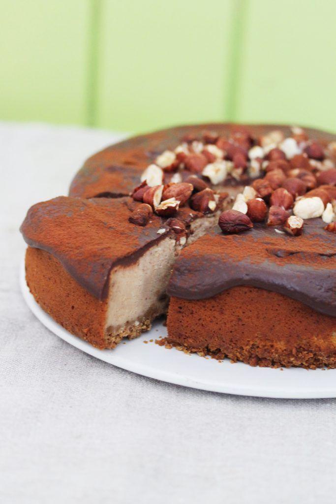 Caffe Mocha cheesecake #cheesecake