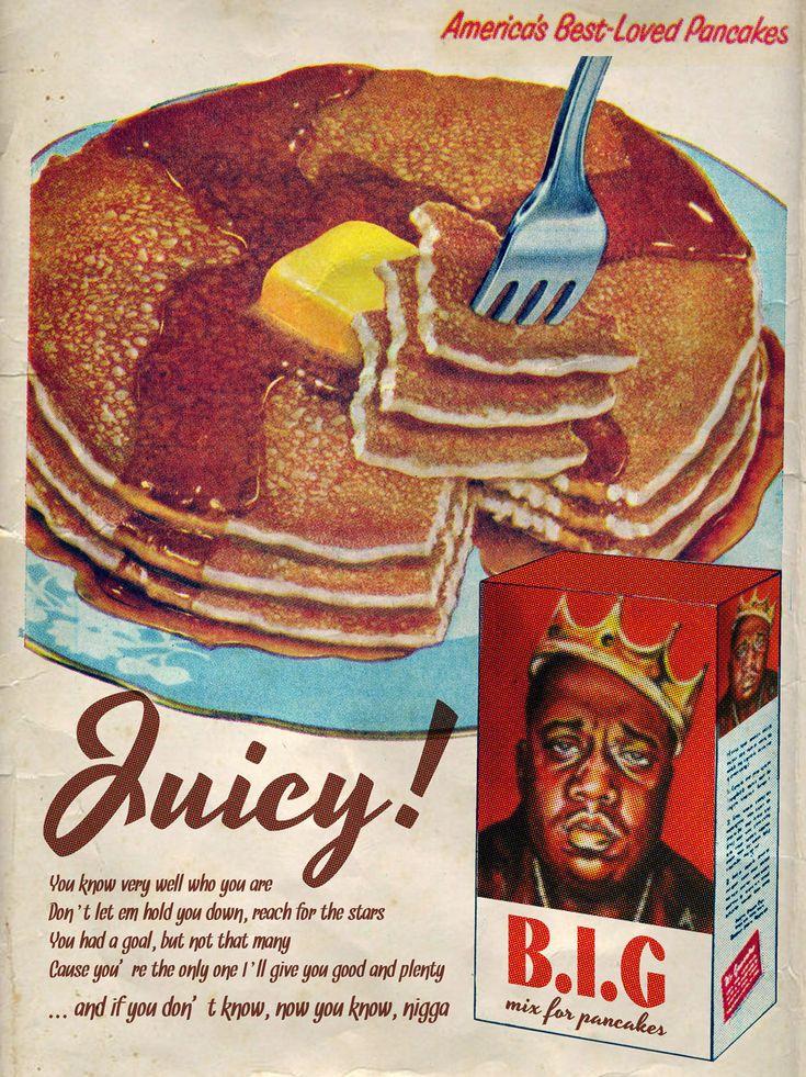 """Juicy"" /Notorious B.I.G © Ads Libitum :facebook/tumblr/behance"
