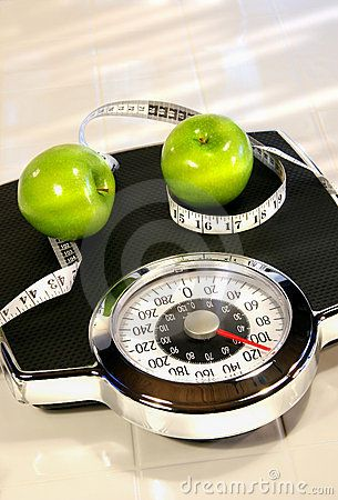 http://www.dreamstime.com/royalty-free-stock-photography-weight-scale-green-apples-image4481897