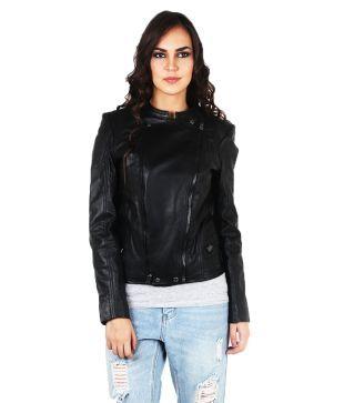 Tizoto Black Leather Jackets