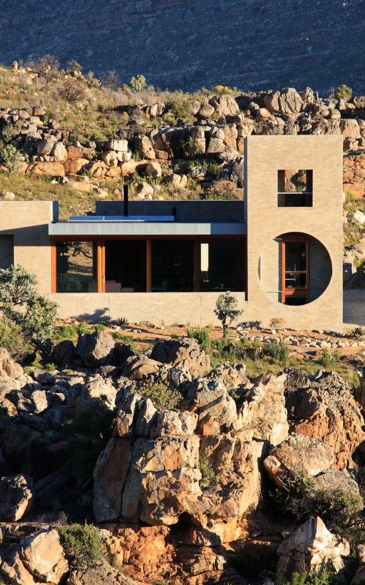 House in the Mountains by Wolff Architects - Cederberg, West Coast DC, South Africa