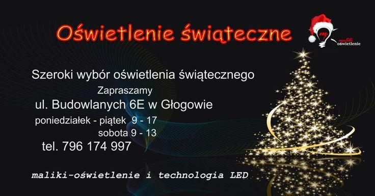 Zapraszamy po oświetlenie świąteczne: lampki choinkowe grilandy cotton balls microled bombki LED ozdoby świąteczne LED zapraszamy: maliki-oświetlenie i technologia LED ul. Budowlanych 6E  67-200 Głogów
