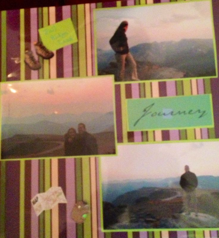 17 best images about hiking scrapbookpages on pinterest for Waterfall design in scrapbook