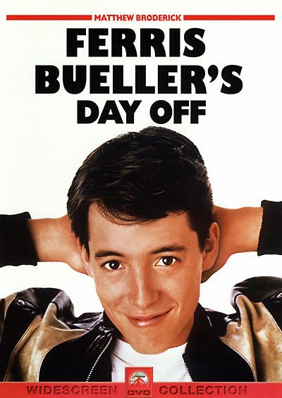 Ferris Bueller's Day Off....every teenager in the 1980's wanted to be just like this: Film, 80S, Movies Tv, Day Off, 80 S Movie, Favorite Movies, Buellers, Classic