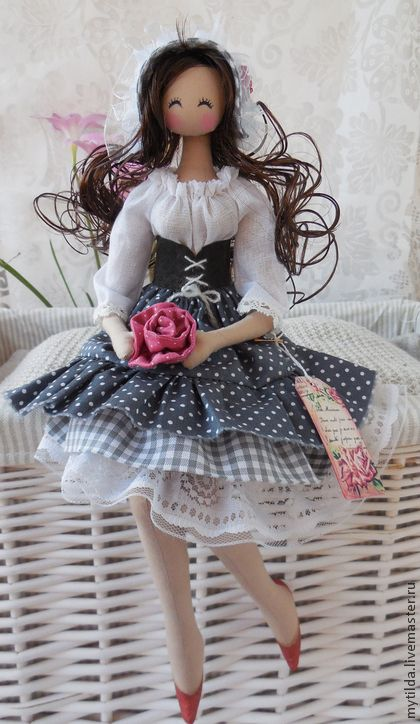 Коллекционные куклы ручной работы. Ярмарка Мастеров - ручная работа Марика. Handmade.