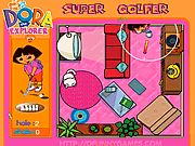 Dora is training to play golf. Your mission is to help her achieve the most points