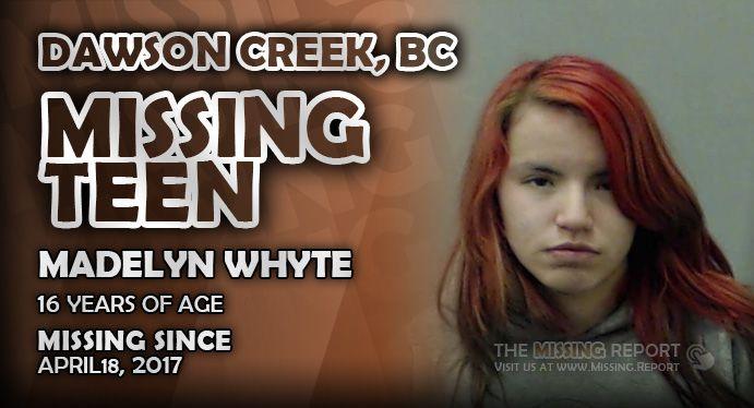 British Columbia Missing Report - #DawsonCreek #Missing #MissingPerson #MissingPeople #MissingCanada #BCMissing #MissingBC #BritishColumbia #BC - http://sha-re.me/86bt