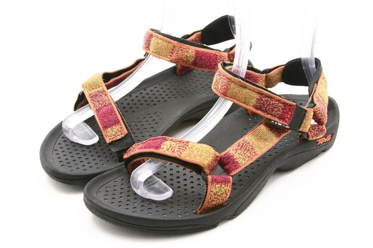 TEVA womens shoes Size 9 multi-colored Hurricane sport water sandals EU 40   #Teva #SportSandals @ebay