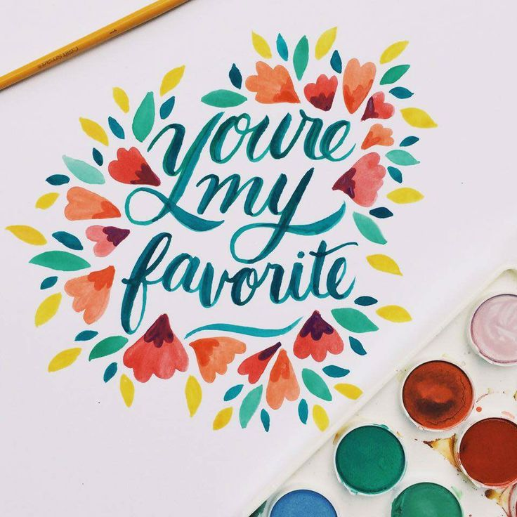 Watercolor Typography Collection by  Jessica Elliott                                                                                                                                                                                 More