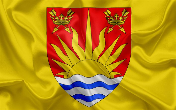 Herunterladen hintergrundbild grafschaft suffolk flagge england, flaggen der englischen grafschaften, flagge von suffolk, britische, county flags, seide flagge, suffolk