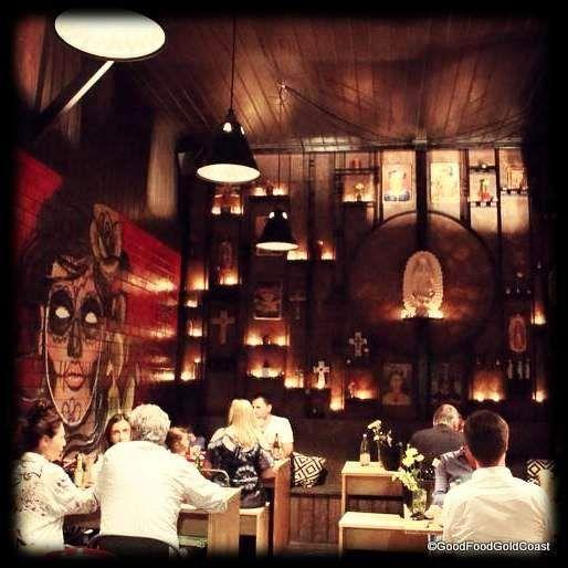 Bonita Bonita. A modern taquiera and bar in the heart of Mermaid Beach. Stunning!