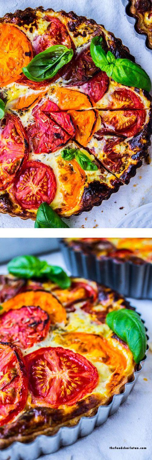 Pinterest cuisine : tarte du soleil