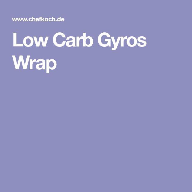 Low Carb Gyros Wrap