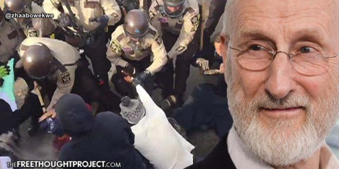 Actor James Cromwell on DAPL — The Police are 'Thugs' Being Shielded By Corporate Media