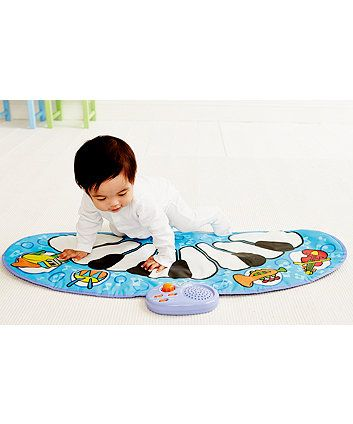 The Baby Percussion Mat allows your baby to make music by patting, kicking and toddling.