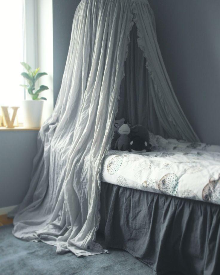 Vincents room #kidsroom #barnrum #sänghimmel #minirodini