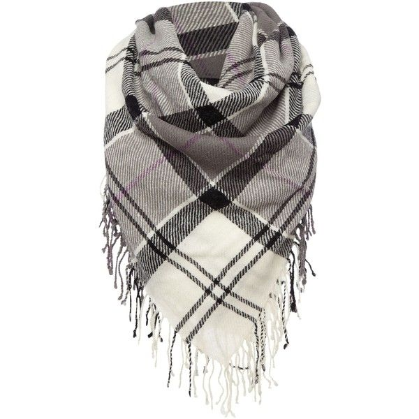 Barbour Daytona Square Scarf ($150) ❤ liked on Polyvore featuring accessories, scarves, white, barbour, white scarves, square scarves and white shawl