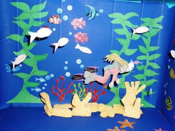 Beach Diorama Ideas For Kids