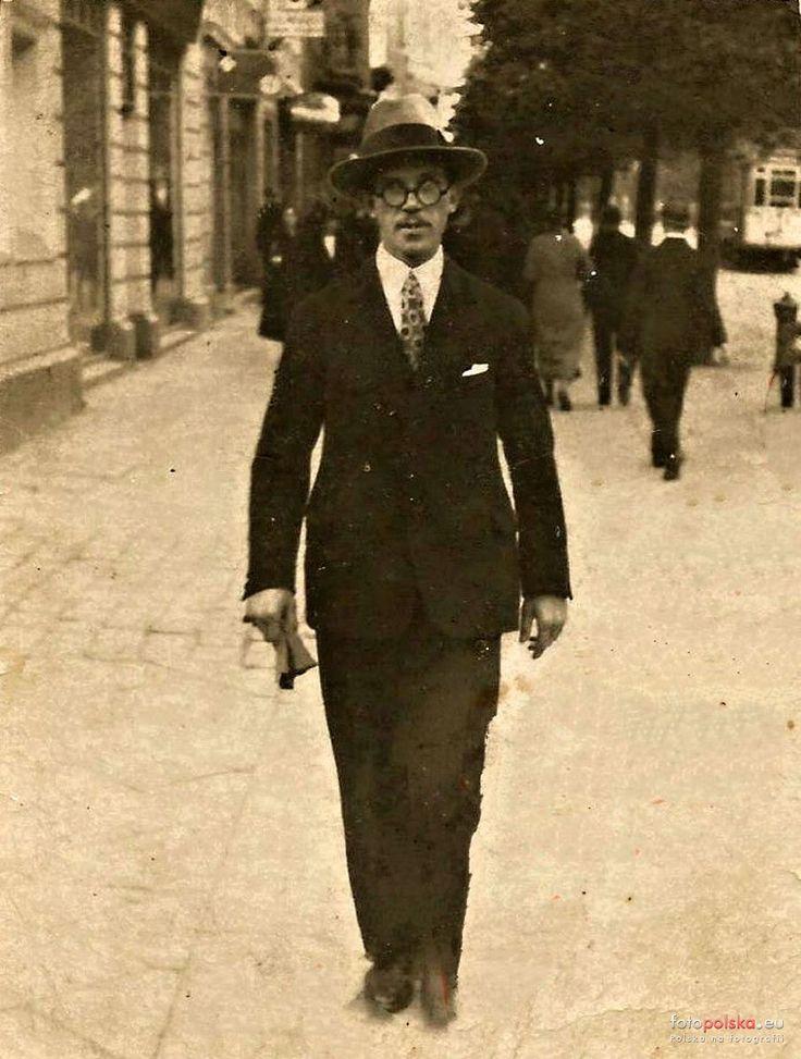 ul. Gdańska (Danzigerstrasse, Adolf Hitler Strasse, Aleje 1 Maja), Bydgoszcz - 1926 rok, stare zdjęcia