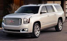 2015 GMC Yukon XL Denali SUV. Car I Own (Lead vehicle for funerals)