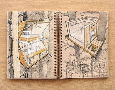 Sketches from my 2014 personal sketchbook