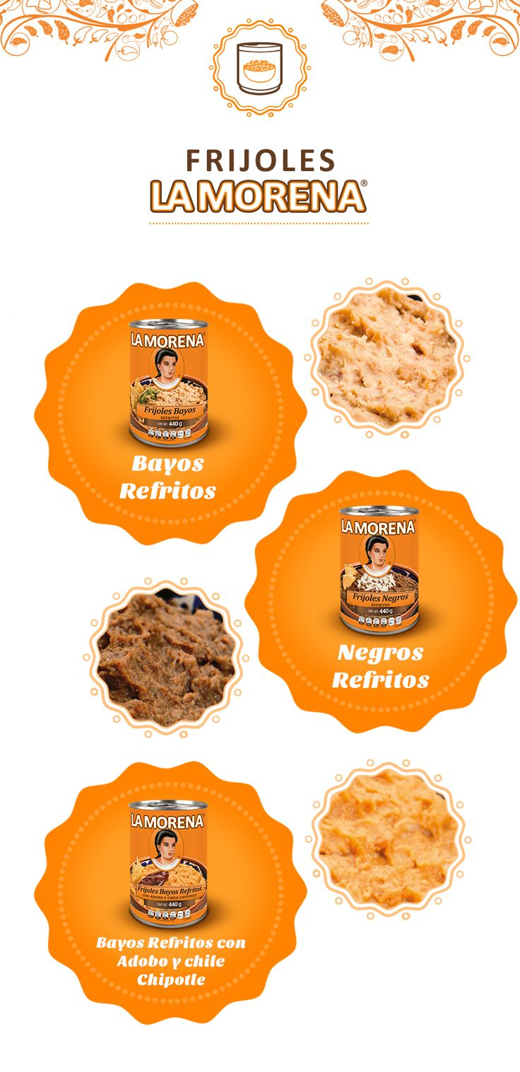 Los frijoles La Morena son 100% mexicanos y son el complemento de los platillos favoritos de tu familia.