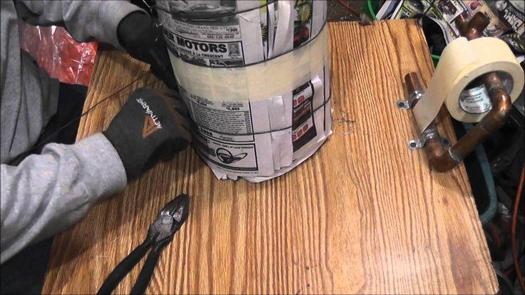 Best Way to make a Homemade Paper Log Update