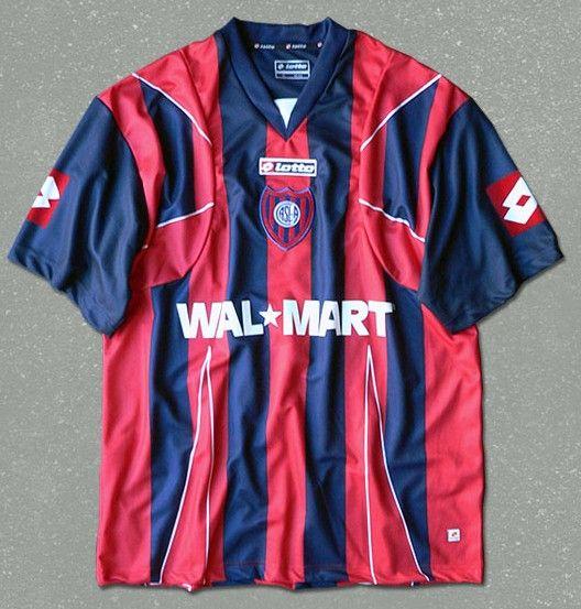 San Lorenzo Home football shirt 2007