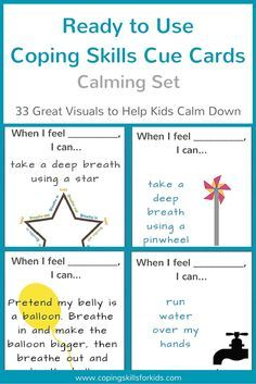 Looking For Great Visuals To Help Kids Calm Down Here Are