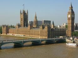 Bigben y parlamento de Londres (Inglaterra)