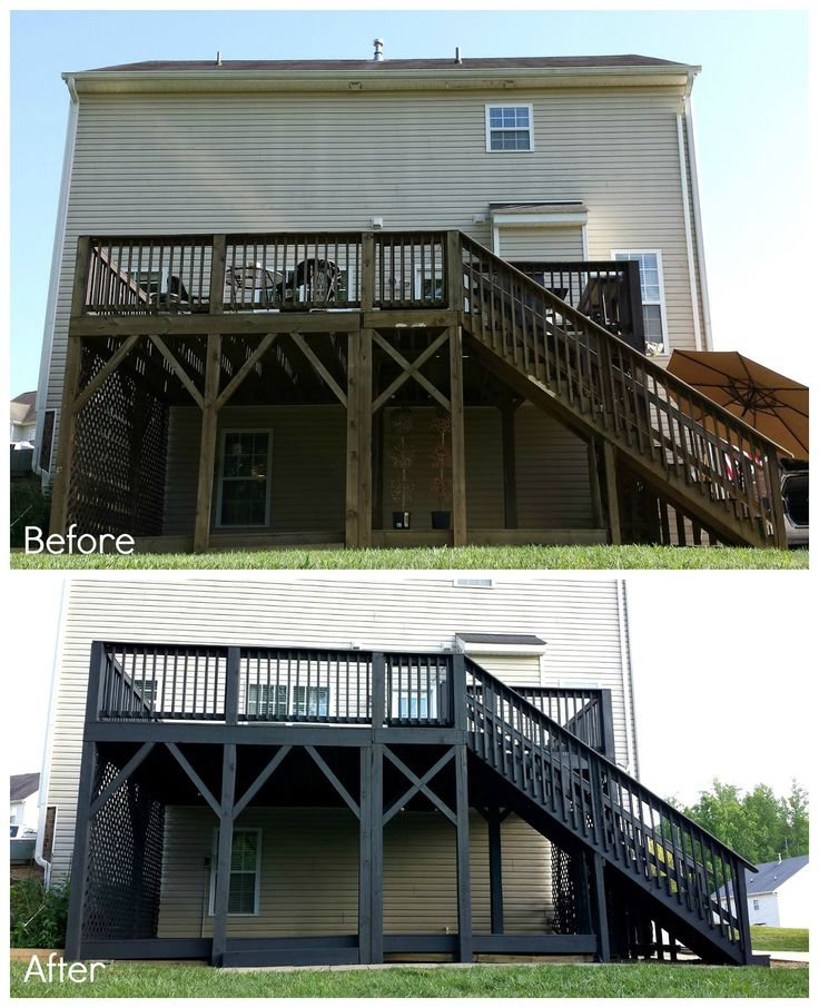 Choosing Deck Color Practically nothing creates a great impact and costs  less to update a space, inside or out, than paint, or in this case: outdoor  solid ...