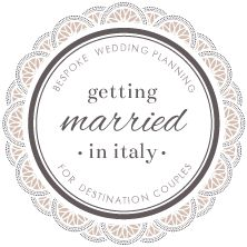Eloping in Italy | Elopement Services by getting married in italy