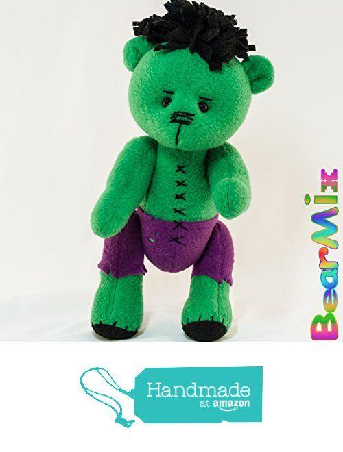 Hulk bear from BearMix https://www.amazon.com/dp/B01I4N5DQK/ref=hnd_sw_r_pi_dp_.huszbDBGN99Z #handmadeatamazon