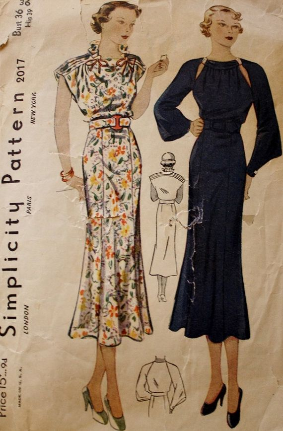 Simplicity 2017 Glam Dress Sewing Pattern by BluetreeSewingStudio