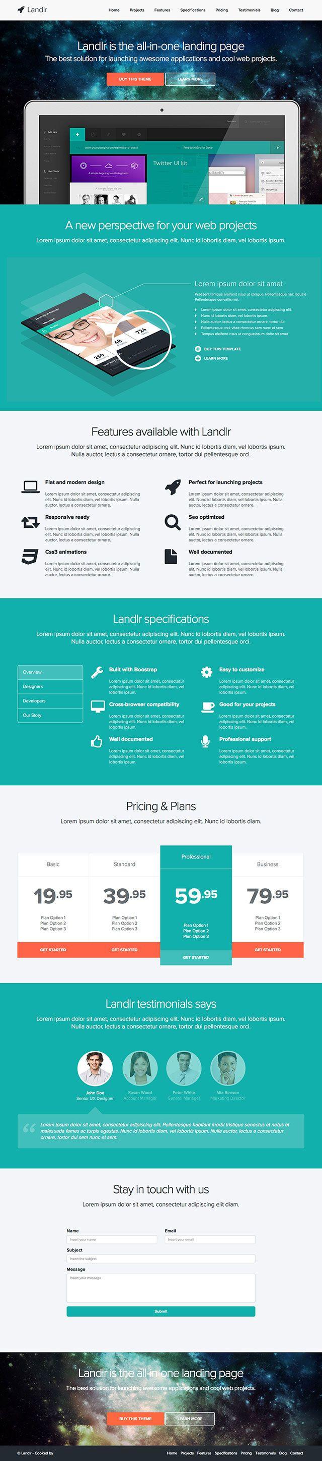 10+ Best Landing Page WordPress Themes 2016 - Useful Blogging
