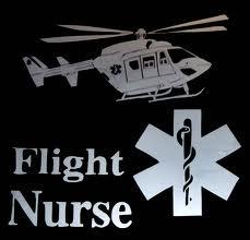 Flight Nurse- someday I hope to be one