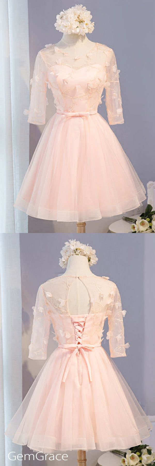 pink tulle style dress for homecoming