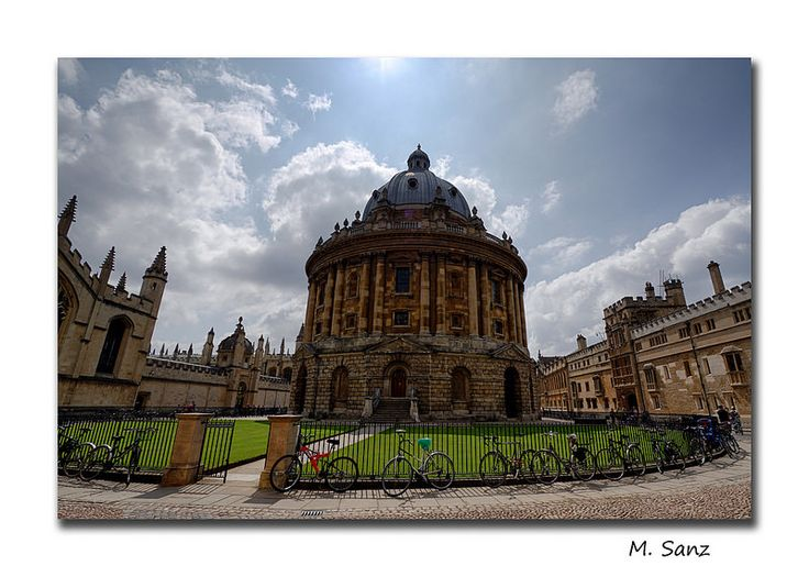 Radcliffe Camera at the Bodleian Library