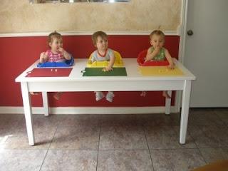 Surviving Triplets: Triplet Feeding Table vs Highchairs