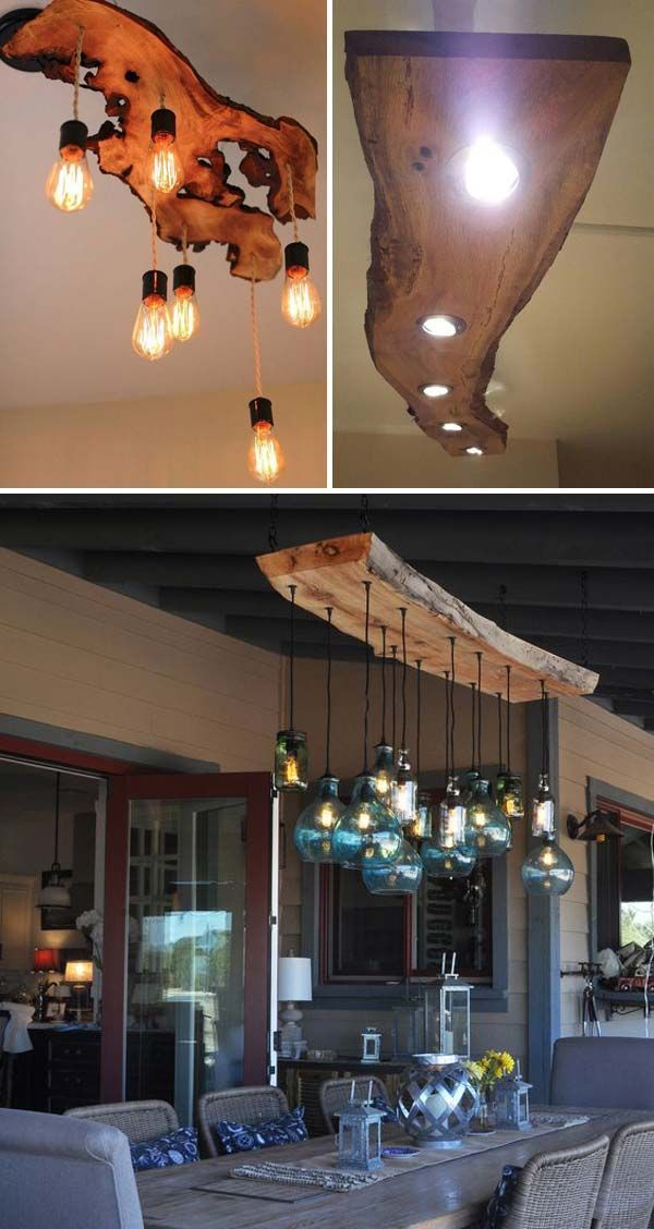 Legend Top 20 cool decoration ideas with Live Edge Wood