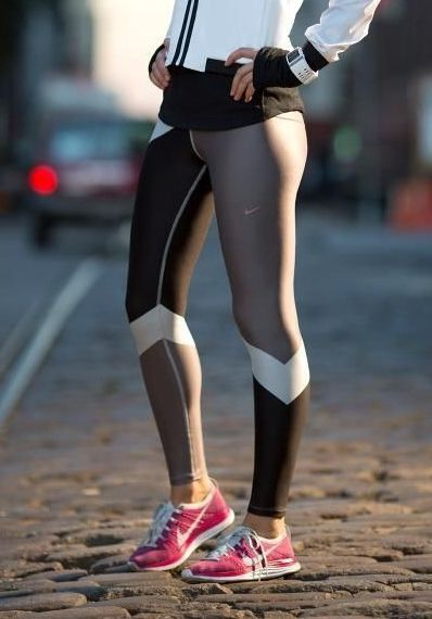 Nike leggings and jacket