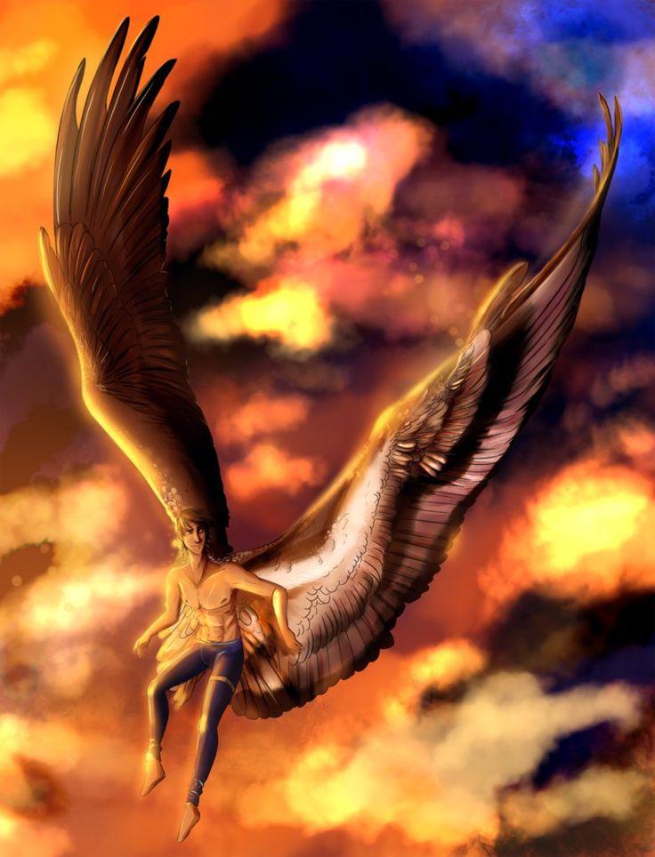 Картинки крылатый ангел